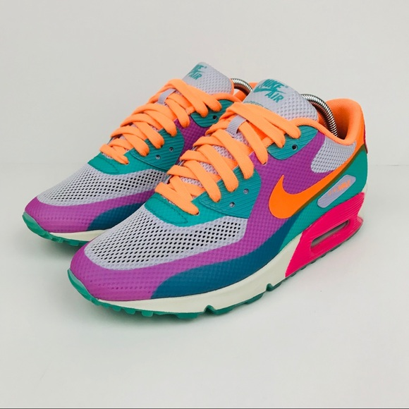 release date: 8f650 e2762 ... pink nike womens air max 90 hyperfuse qs shoes 89b0e 69ccf canada wmns nike  air max 90 hyperfuse premium 6c430 025af ...